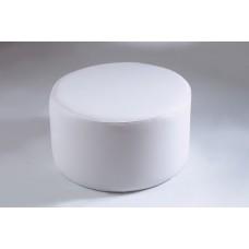 Modello Pouff Tavolino Tondo Ecopelle